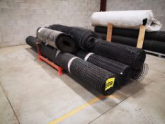 LOT OF (4) 12', FOUNDATION AIR BARRIER ROLLS AND (2) 3 1/2' FOUNDATION AIR BARRIER ROLLS