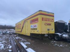"STOUGHTON, AVW-535T-18""DF, 53', STORAGE TRAILER WITH CONTENTS, VIN #1DW1A5328RS880615, 1994"