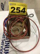 LOT OF WIRE ROPE SLINGS