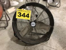 "COMFORT ZONE, CZMC24, 24"", INDUSTRIAL FLOOR FAN"