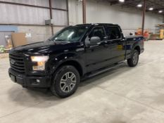 FORD, F-150, XLT, PICK-UP TRUCK, SUPERCREW, 4X4, GASOLINE ENGINE, 184,591 KM, 2016
