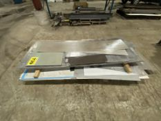 LOT OF ASSORTED STEEL SHEETS
