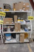 LOT OF NEW HEAVY EQUIPMENT PARTS, OIL, ETC