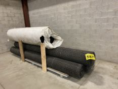LOT OF (5) 12', FOUNDATION, AIR BARRIER ROLLS