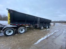 TROUT RIVER, TRI-AXLE, LIVE BOTTOM TRAILER, VIN #SS9PS6360CW134524, 2012