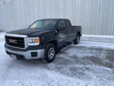 GMC, SIERRA 1500, PICK-UP TRUCK, 4X4, QUAD CAB, GASOLINE ENGINE, 272,199 KMS, 2014