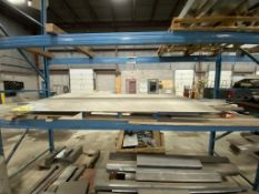 LOT OF ASSORTED STEEL SHEET, BAR AND FLAT STOCK