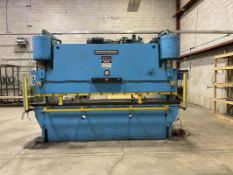 CLEARING NIAGARA, HBM-230-10-12, 230 TON X 10', HYDRAULIC PRESS BRAKE, AUTOMEC, CNC 150 AUTOGAUGE,