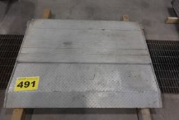 """ALUMINUM, DROP DOWN TAILGATE, 5' X 44"""" X 2"""" (GATE ONLY)"""