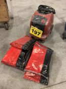 HILTI, VC-20U, UNIVERSAL VACUUM CLEANER WITH (25) BAGS OF HILTI, 203859, HEPA FLEECE BAGS
