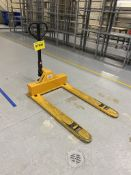"ULINE, H-1781, 3,300 LBS, LOW PROFILE/4-WAY ACCESS, 48 x 33"", PALLET JACK"
