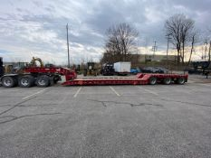 JC TRAILERS, TRI AXLE, 55 TON, GOOSE NECK, LOWBOY TRAILER, PIN ON AXLE, 2019