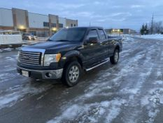 FORD, F-150, XTR, PICK-UP TRUCK, SUPERCREW, 4X4, GASOLINE ENGINE, 320,114 KMS, 2010
