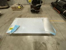 """RIBBED, GALVANIZED, 0.40"""" THICK, STEEL SHEET, 4' X 8' (APPROX.)"""