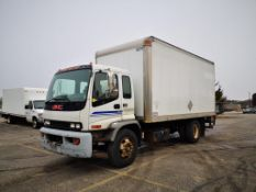 GMC, T6500, BOX TRUCK, 108,478 KMS, 2004
