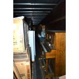 Oak Upright Player Piano - AS IS, DOES NOT WORK (in Lot 10)