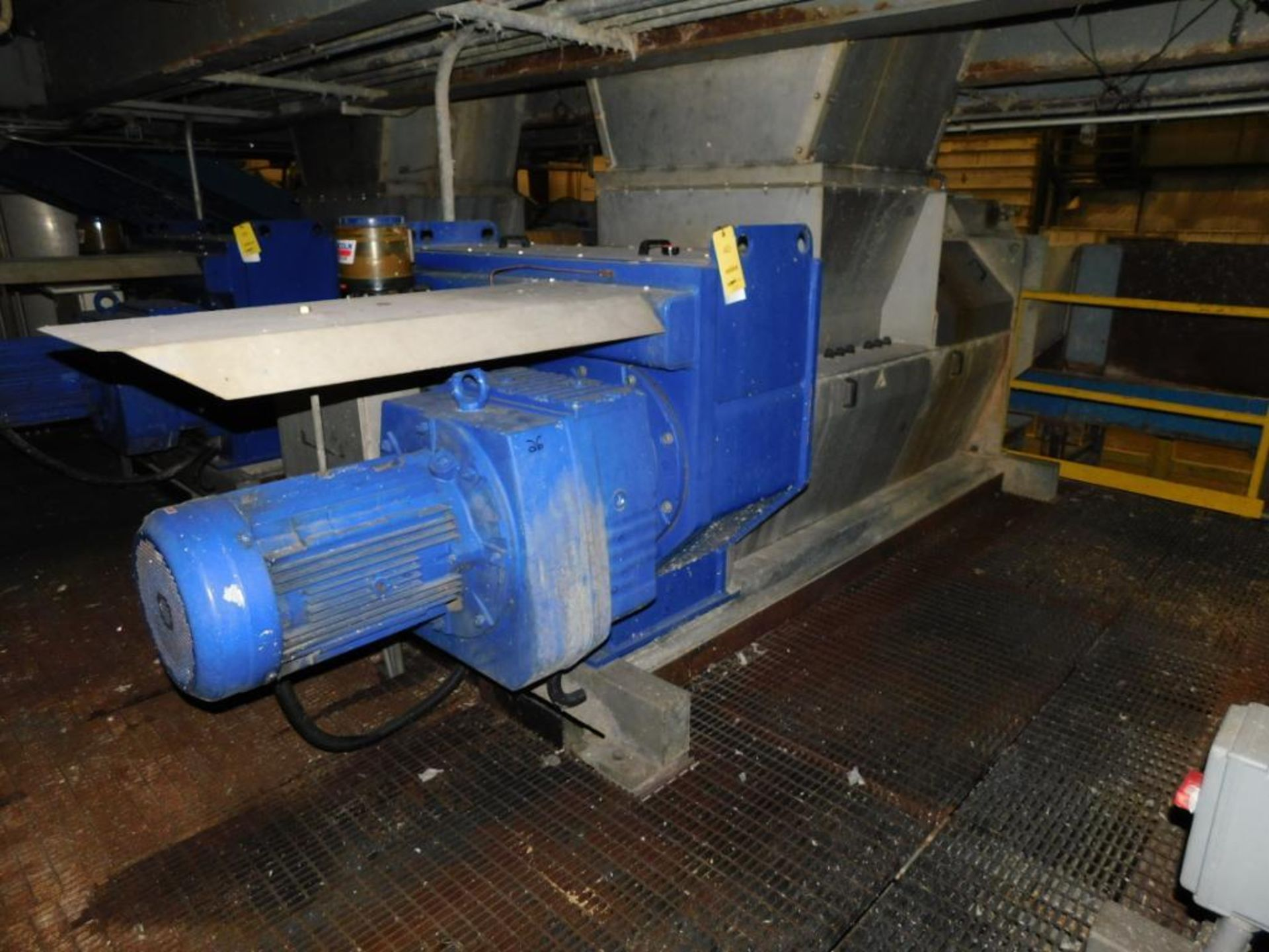 Lot 40 - Trumag/Meri Compax Screw Press Model CFX60R, S/N 11141 (2009), Driven by 30kw Motor (#EC-774-02-024,