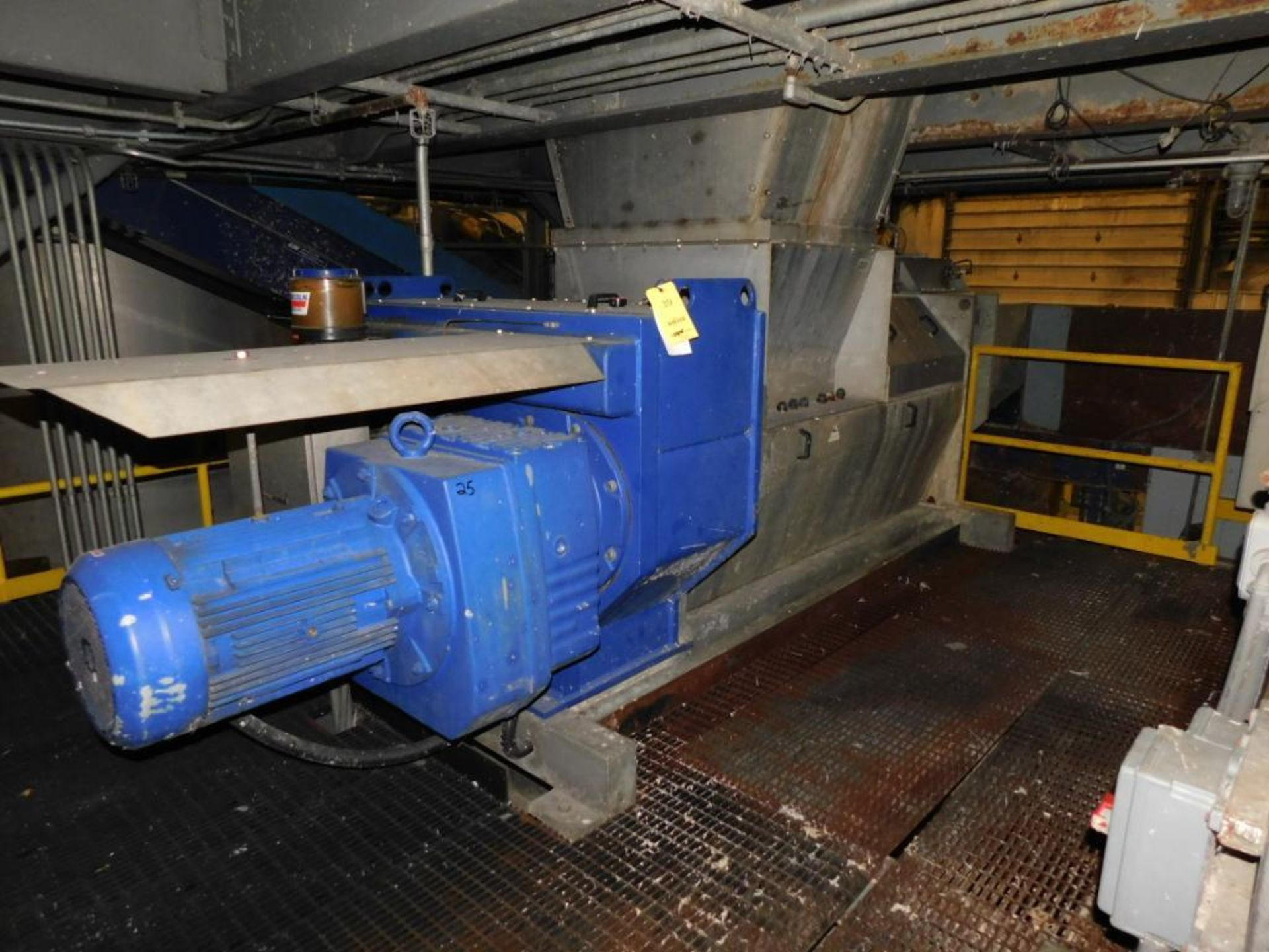 Lot 39 - Trumag/Meri Compax Screw Press Model CFX60R, S/N 11142 (2009), Driven by 30kw Motor (#EC-774-02-025,