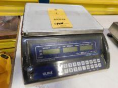 ULINE JCE-30K 60 lb. x .002 lb. Counting Scale