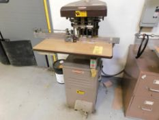 CHALLENGE Model EH-3A 3-Spindle Hydraulic Paper Drill S/N 68900