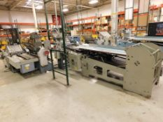 LOT: STAHL Series 1426B 26 in. x 40 in. 16-Page Continuous Feed Folder Consisting Of: STAHL Model 14