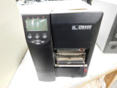 ZEBRA ZM 400 Label Printer