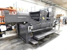 LOT: HEIDELBERG Model 102 ZP 28 in. x 40 in. 2-Color Sheet Fed Offset Perfecting Printing Press S/N