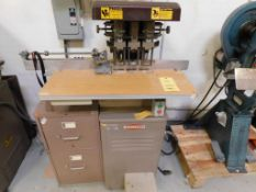 CHALLENGE Model EH-3A 3-Spindle Hydraulic Paper Drill S/N 66544