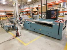 LOT: MBO Series B32S Perfection Series 32 in. x 52 in. 16-Page Continuous Feed Folder Consisting Of: