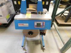 FELINS Model Ultra-Sonic 2000 LD Semi Automatic Paper Loop Banding Machine S/N 08034