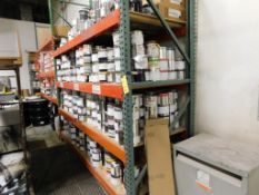 LOT: Large Quantity Assorted Sealed and Open Containers of Ink (Rack not Included)