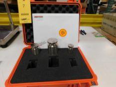 RICE LAKE Scale Calibration Kit 1, 2, 5 lb. Weights