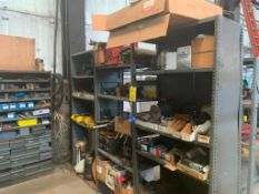 LOT: (5) Shelving Units, with Contents