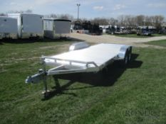 Eurobungy Trailer - Alumna 20' Aluminum car hauler trailer with ramps