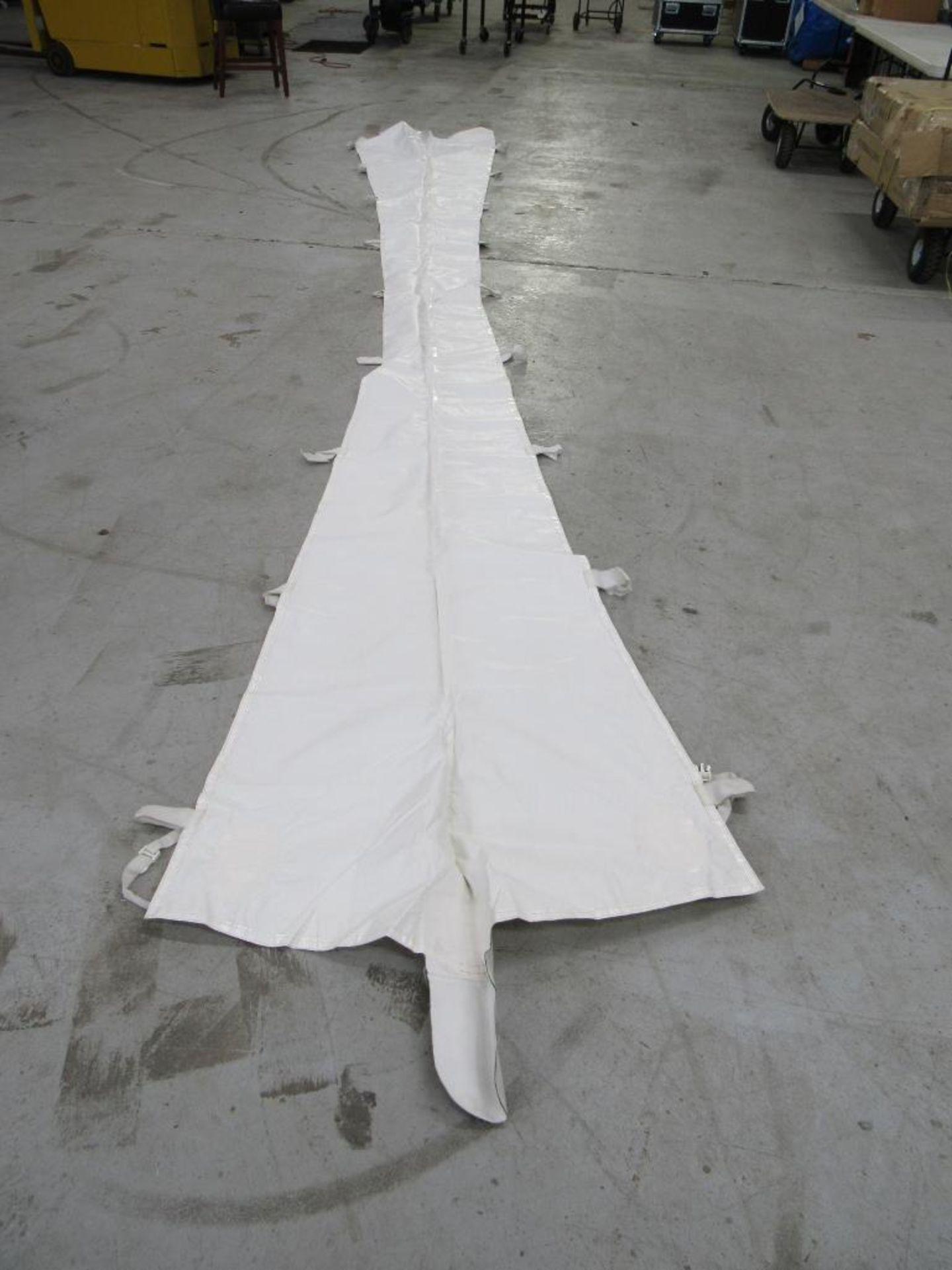 Lot 73 - PINNACLE Rain Gutters, 20 ft. Tent (2) Pieces
