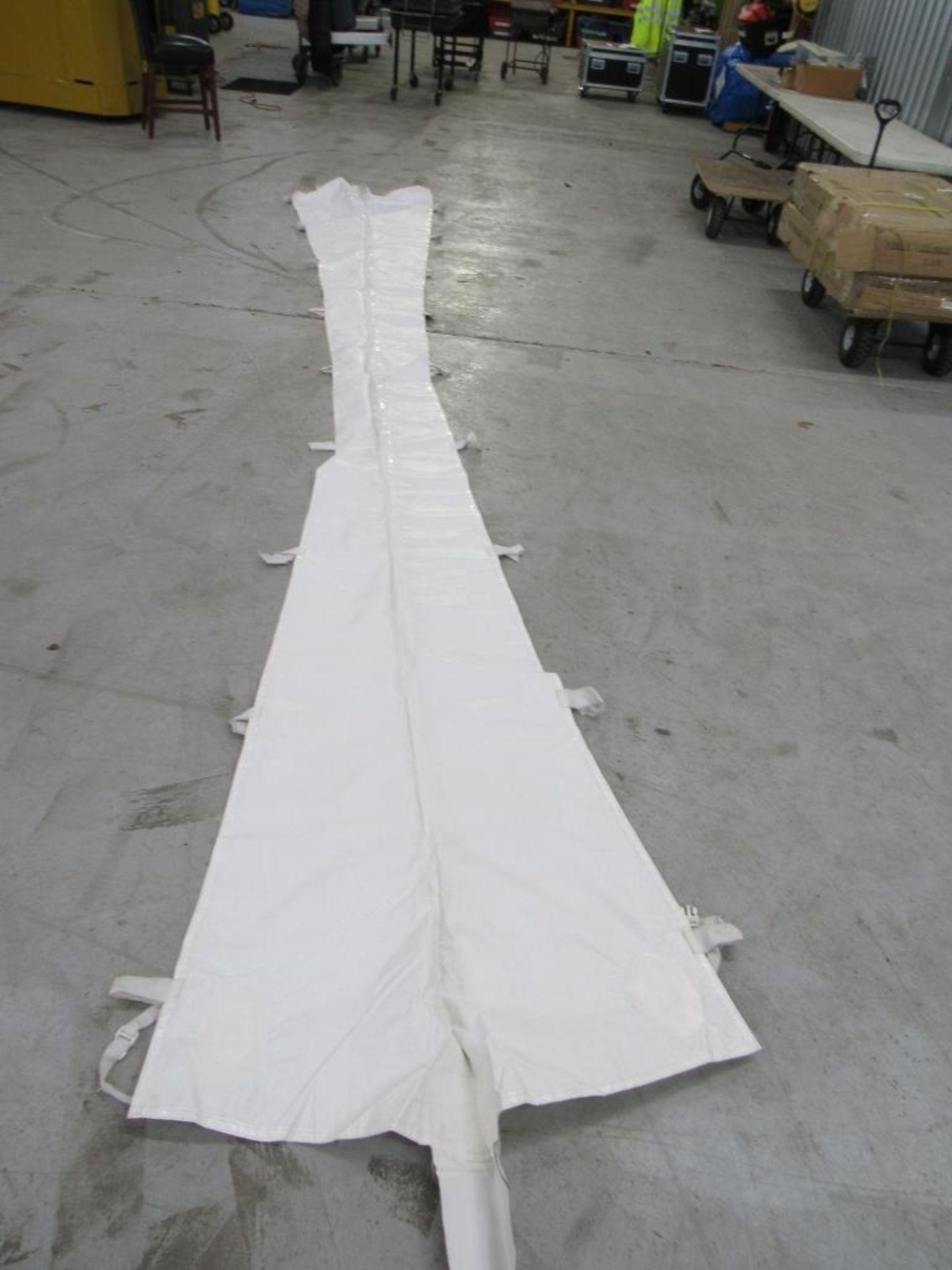 Lot 67 - PINNACLE Rain Gutters, 20 ft. Tent (2) Pieces