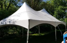 20 ft. x 30 ft. Hi Peak Frame Tent - Complete (sidewalls available)