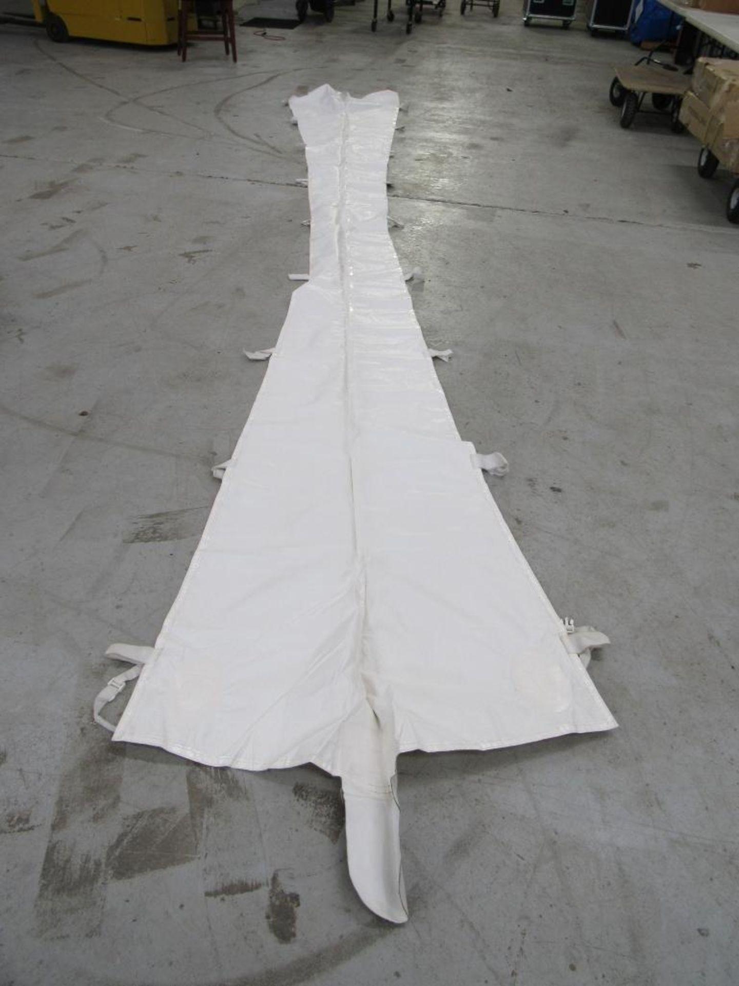 Lot 72 - PINNACLE Rain Gutters, 20 ft. Tent (2) Pieces