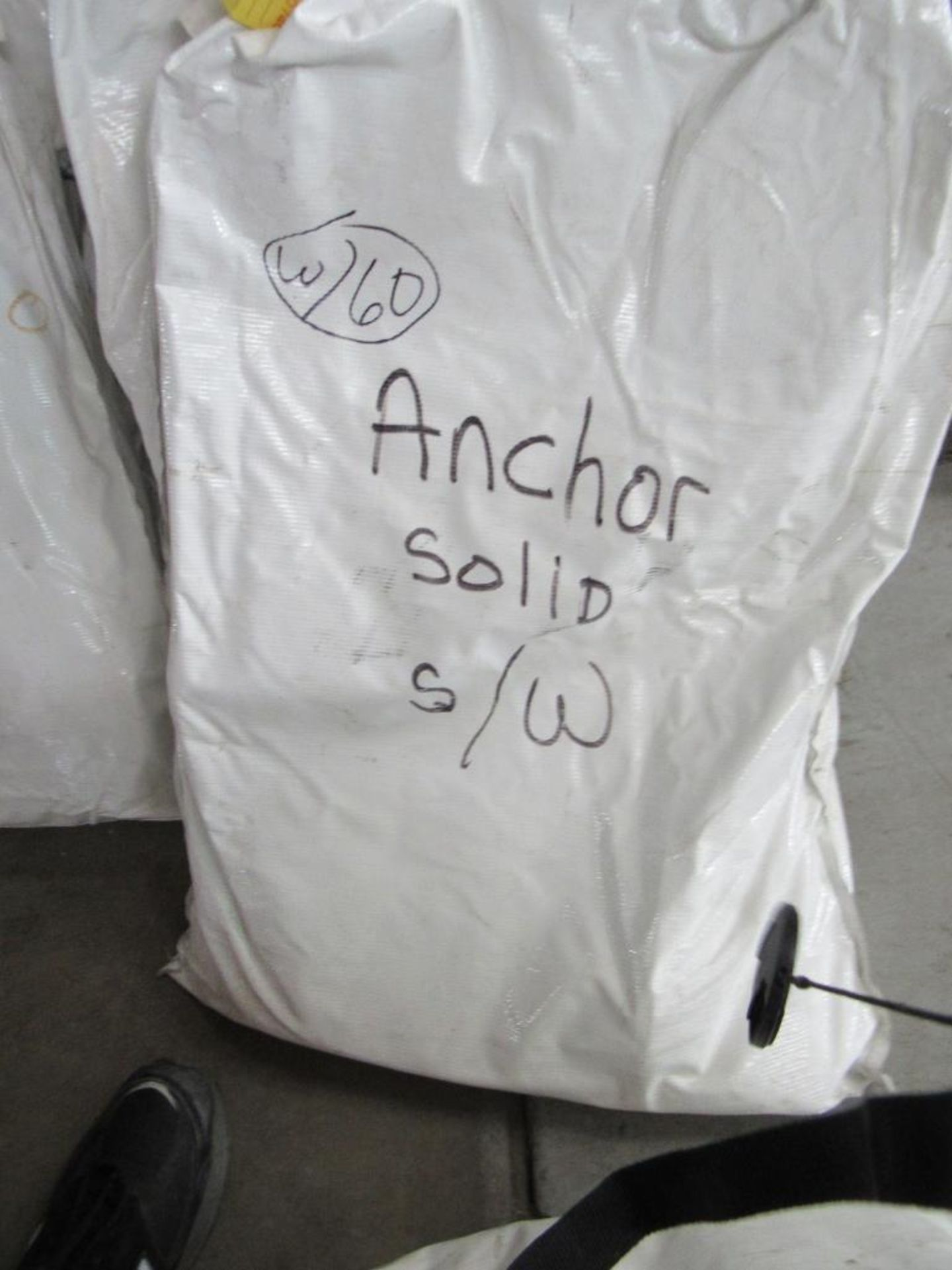 Lot 60 - LOT: (3) 20 ft. Solid Side Walls for 20 ft. x 20 ft. ANCHOR Tents (1) 20 ft. Window Side Wall