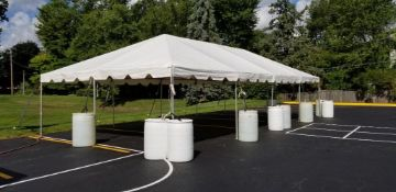 20 ft. x 40 ft. Frame Tent - Complete (sidewalls available)