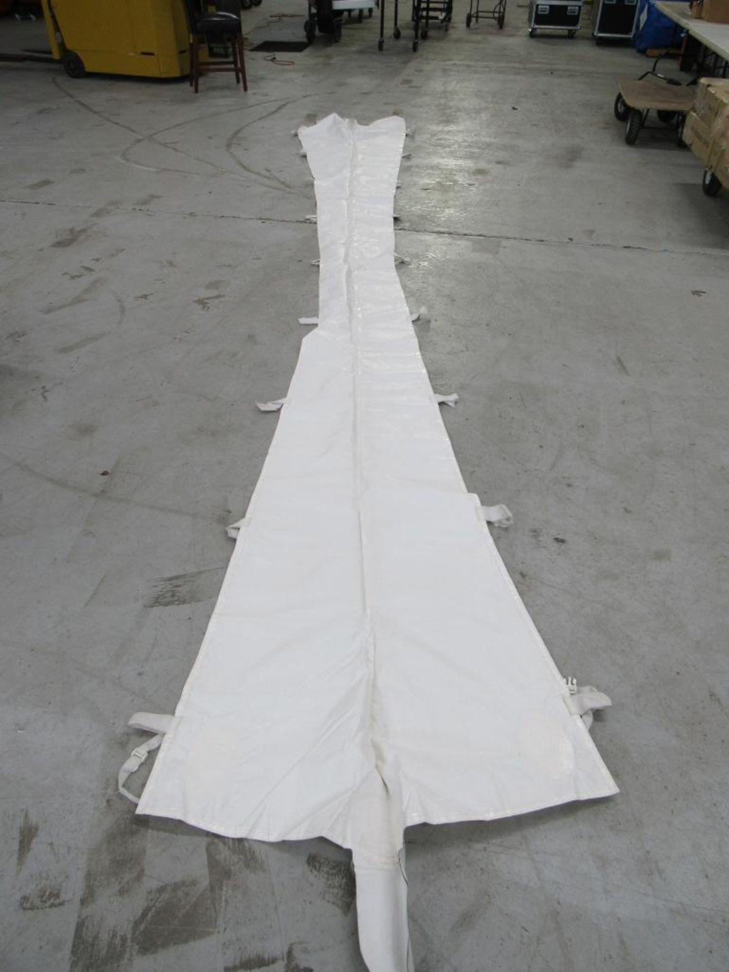 Lot 69 - PINNACLE Rain Gutters, 20 ft. Tent (2) Pieces