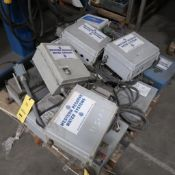 LOT: Assorted PCV Control Boxes on (1) Pallet