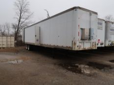 LOT: 48 ft. 1989 Mobile Fruehauf Dual RO MM Filtration Trailer, (2) 150 GPM RO's w/36 Membranes each