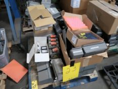 LOT: Assorted Electrical Components on (3) Pallets