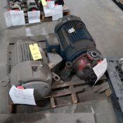 LOT: (4) Grundfos CR4 Pumps w/Motors, (1) Grundfos CR2 Pumps w/Motors