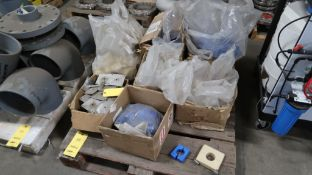 LOT: Assorted PVC Fittings (mostly 8 in.) on (1) Pallet