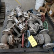 LOT: (12) Assorted Stainless Valves