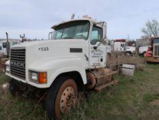 2006 Mack Model CHN613 Tandem Axle Tractor (AS IS - NOT COMPLETE) VIN: 1M1AJ06Y96N005028, Unit #533
