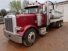 2007 Peterbilt Model 379, Bobtail Truck, 14.9L L6 Diesel, w/Pump, Tank, 13-Speed Trans, VIN: 1XP5D49