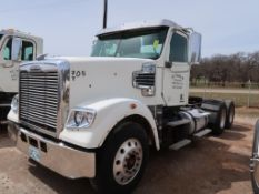 2012 Freightliner Model Coronado, Tractor, 14.9L L6 Diesel, w/ Challenger Pump, 10-Speed Trans, VIN: